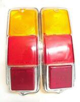 PLASTICHE FIAT 500 F/L/R ABARTH 595 COPPIA PER FANALI POSTERIORI TIPO STARS