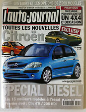 L'AUTO-JOURNAL du 13/01/2000; Spécial Citroen Diesel, les 15 meilleurs modèles