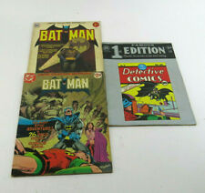 Dc Comics Limited Collector's Edition Famous 1st Edition Batman Oversized Books