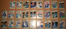 1989 Fleer baseball Team set Toronto Blue Jays 24+2 #225-248 Stieb Wells Bell Nm