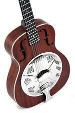 Resonador guitarra Sigma rm-140e + fonocaptor/dobro caoba veteado expositores