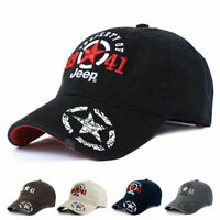 Jeep Men Women Summer Hat Baseball Cap Golf Hat Ball Sun Cap Outdoor Sports Hat