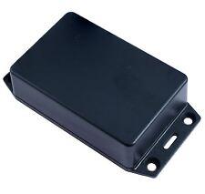 Hammond 1591XXMFLBK Black ABS Enclosure Flanged Lid 85 x 56 x 24mm