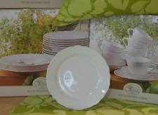 HUTSCHENREUTHER Porzellan MARIA THERESIA Weiß Frühstücksteller Teller Ø 19cm NEU