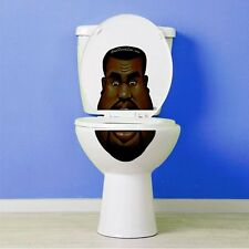 Kanye West Toilet Lid Decal / Sticker Set by Bowl Faced Liar