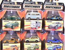 Matchbox Best Of Matchbox 2016-2017 Set Of 6 Bmw Lamborghini Volkswagen
