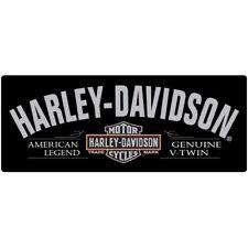 """""""V-Twin"""" Harley-Davidson Tin Sign Embossed Garage 681"""