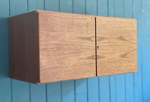 Tapley 33 Mid Century Floating Wall CUPBOARD Teak Modular System DELIVERY* 🚚
