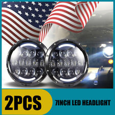 "7""inch Round LED Headlights 2019 For Kenworth T2000 T-2000 Truck Tractor Trailer"