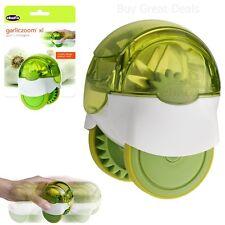 Garliczoom XL Easy Use Hand Powered Fresh Garlic Chopper Food Processer NEW