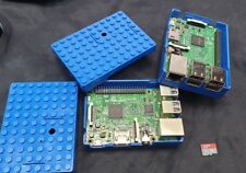 Raspberry Pi 3 Model B V1.2 with Pi-Blox Lego® Compatible and 16GB CARD