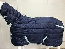 AXIOM NAVY STABLE 300g COMBO HORSE RUG - 6' 3