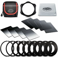 Rangers Full + Graduated ND Filter Set + Adapter Ring + Holder per Cokin P RA14