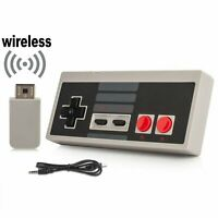 Wireless Game Controller Gamepad For Nintendo NES Mini Classic Console Recharge