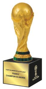 FIFA WM2018 : Pokal 3D Frankreich Weltmeister  Sonder Edition ! H-150 mm.