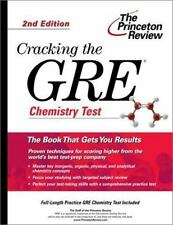 Cracking the GRE Chemistry Test, 2nd Edition (Graduate Test Prep)