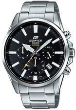 Casio Edifice Men's Quartz Silver-Tone Band 44mm Watch EFV510D-1A