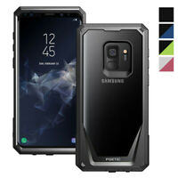 Samsung Galaxy S9 Phone Case Poetic® Armor Dual Layer Shockproof Cover Black