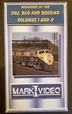 Mark I Video - Memories of the CNJ, B&O and RDG Volume 1 and 2 - COMBO DVD