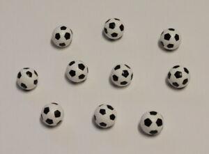 Figuren FUSSBALL - 10-teilig - Bastelbedarf - Miniaturen - Streudeko