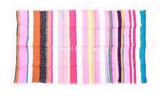Indian  Chindi Dhurrie Reversible Carpet Hand Woven Chindi rug throw carpet