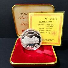 1987 Singapore Centenary of the National Museum SGD5 Dollar Proof Coin set 06575