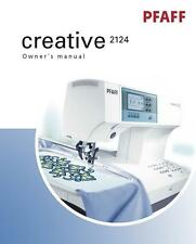 PFAFF Creative 2124 Instructions User Guide Manual COLOR COPY