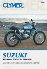 Clymer Repair Manual for Suzuki Tc125 Tm125 Ts125 Ts185 Tm250 Ts250 Tm400 Ts400 (Fits: Suzuki)