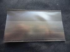 FRANCOBOLLO Stamp stockcards 148 x 85mm 2-Strisce con coverfoil. NUOVO. confezione da 10