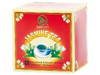 Jasmin Tee beste Teequalität Grüner Tee mit Jasminblüten loser jasmintee 250g