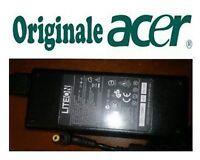 Caricabatterie ORIGINALE alimentatore per Acer eMachines E732Z - 90W 19V 4.74A