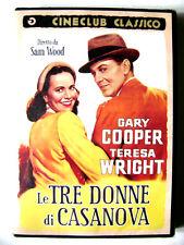 Dvd Le tre donne di Casanova (Cineclub Classico) con Gary Cooper 1944 Nuovo