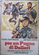 Poster Manifesto ORIGINALE - PER UN PUGNO DI DOLLARI - Sergio Leone- 61x91cm