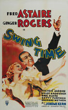 Swing time Ginger Rogers Fred Astaire movie poster #3