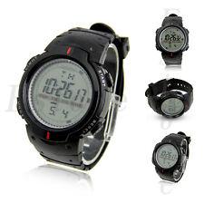 Men's Waterproof Popular LCD Digital Stopwatch Date Rubber Sport Wrist Watch