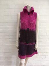 MAX&Co. Maxmara Pink ombre mohair blend vest cardigan size M Medium