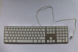 Original Apple Tastatur Keyboard A1243 weiss - USB - getestet und intakt (D)
