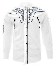 Adult Cowboy Shirt El Señor de los Cielos Embroidered Camisa Vaquera Bordada