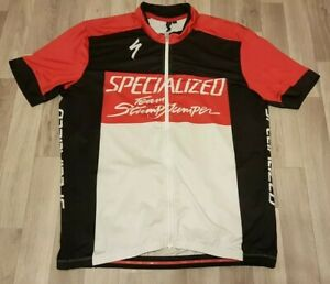 Specialized Team Stumpjumper Rbx Comp Short Sleeved Cycling Jersey Retro Design
