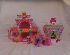My Little Pony Ponyville Roller Skate Party Cake +  La Ti Da Hair Spa + Pony's