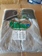 6 PACKAGES OF FOREST LAKE MEN'S SIZE 10-13 THERMAL SOCKS (24 TOTAL PAIRS)