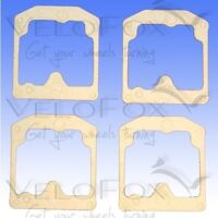 TourMax Carb Float Chamber Gaskets fits Suzuki GS 550 E Cast Wheel 1978-1979