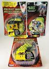 Beast Wars Biocombat Transformers K-9 / AIR HAMMER / RETRAX 1997 Kenner Lot New
