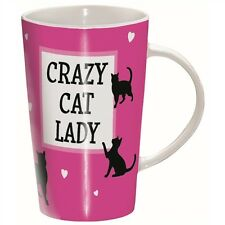 Tasse latté-crazy cat lady