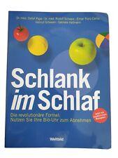 Detlef Pape: Schlank im Schlaf Taschenbuch
