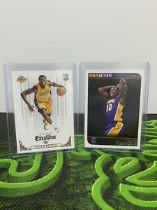 2014-15 JULIUS RANDLE ROOKIE Cards NBA Hoops + Panini Excalibur INVEST 🤑 X2 LOT