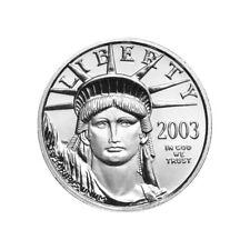 2003 Platinum American Eagle 1/10 oz PCGS MS68