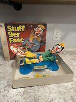 Vtg 1982 Milton Bradley Stuff Yer Face Game FAMILY Nostalgia Creepy Clown READ