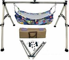 Baby Boy's and Girl's Cradle, Palna Folding Swing Stainless Steel Ghodiyu for Ki