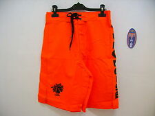 Shorts Beach Tennis short Turquoise Man Orange Black Black Orange Xl